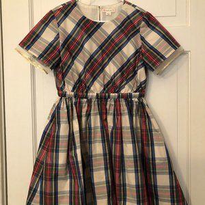 Crewcuts Plaid Dress in Size 8